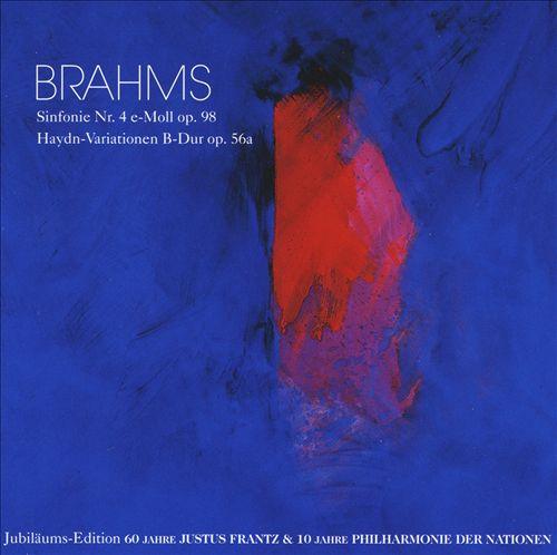 Brahms: Sinfonie No. 4; Haydn-Variationen