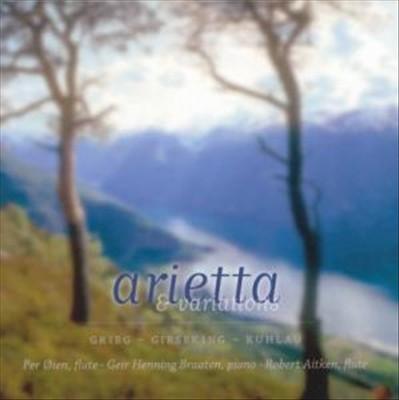 Arietta & Variations: Grieg, Gieseking, Kuhlau