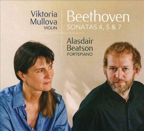 贝多芬:第四、五、七奏鸣曲