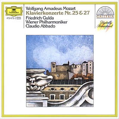 Wolfgang Amadeus Mozart: Piano Concertos Nos. 25 & 27