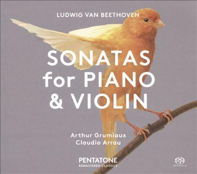 Ludwig van Beethoven: Sonatas for Piano & Violin