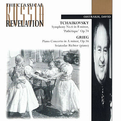 Tchaikovsky: Symphony No6, Op74; Grieg: Concerto for piano in Am