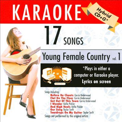 Karaoke: Young Ladies of Country, Vol. 1