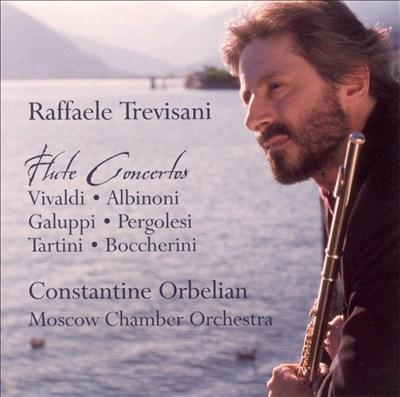 Flute Concertos: Vivaldi, Albinoni, Galuppi, Pergolesi, Tartini, Boccherini