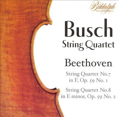 Beethoven: String Quartet Nos. 7 & 8