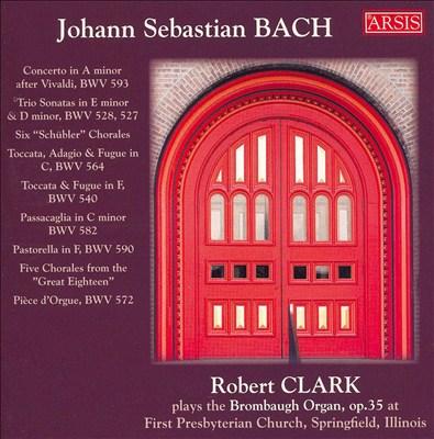 J.S. Bach Organ Works