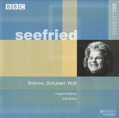 Seefried: Brahms; Schubert; Wolf
