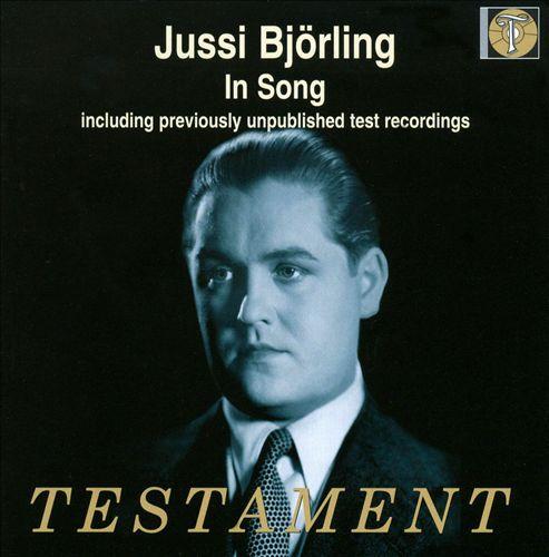 Jussi Björling in Song