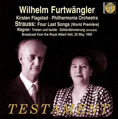 """Strauss: Four Last Songs; Wagner"""" Excerpts from Tristan und Isolde & Götterdämmerung"""