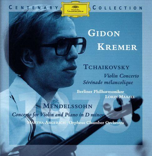 Tchaikovsky: Violin Concerto, Op. 35; Mendelssohn: Concerto for Violin, Piano & String Orchestra