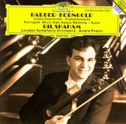Barber, Korngold: Violin Concertos; Korngold: Much Ado about Nothing - Suite