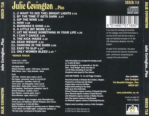 Julie Covington Plus