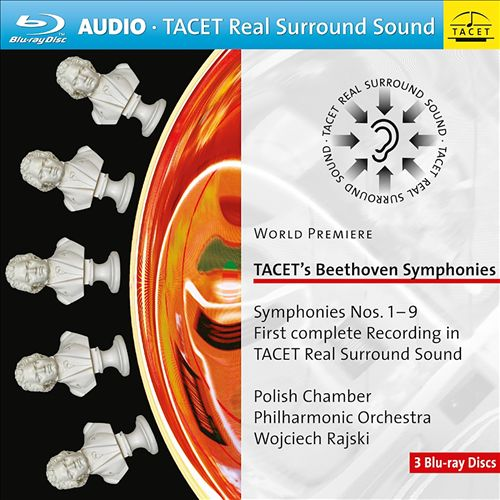 TACET's Beethoven Symphonies Nos. 1-9: First complete recording in TACET Real Surround Sound
