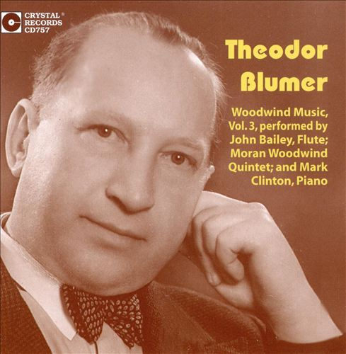Theodor Blumer: Woodwind Music, Vol. 3