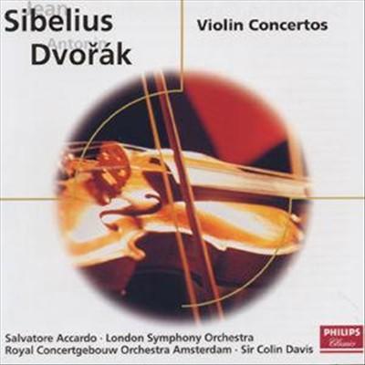 Sibelius, Dvorák: Violin Concertos