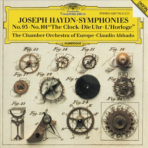 "Joseph Haydn: Symphonies No. 93, No. 101 ""The Clock"""