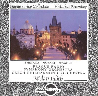 Smetana, Mozart, Wagner