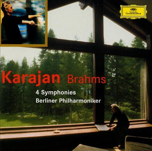 Brahms: 4 Symphonies [1977 & 1987/89]