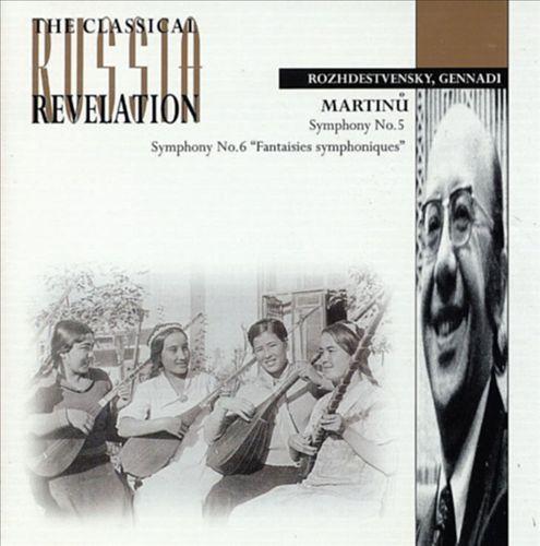 Martinu: Symphonies 5 & 6