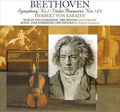 Beethoven: Symphony No. 2; Violin Romances Nos. 1 & 2