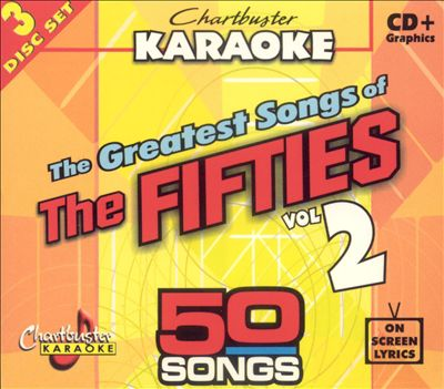 Chartbuster Karaoke: Greatest Songs of 50s, Vol. 2