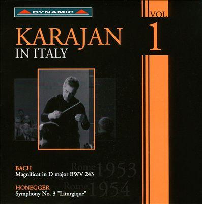 Karajan in Italy, Vol. 1