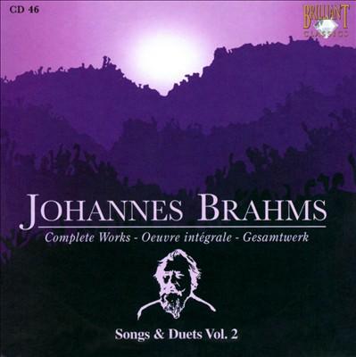 Brahms: Songs & Duets Vol. 2
