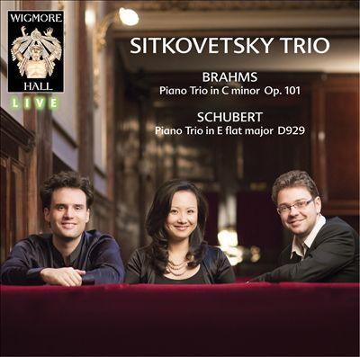 Brahms: Piano Trio in C minor, Op. 101; Schubert: Piano Trio in E flat major, D. 929