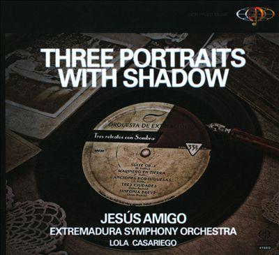 Three Portraits with Shadow