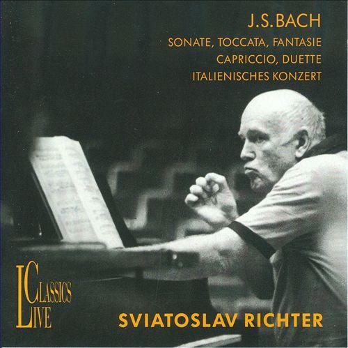 Sviatoslav Richter Plays Bach