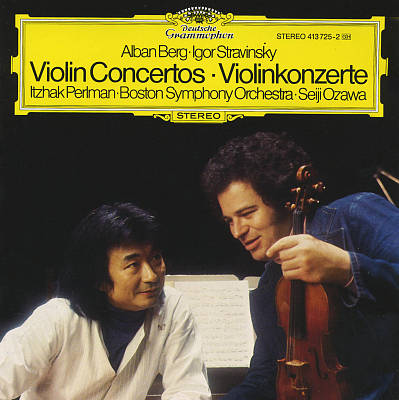 Berg, Stravinsky: Violin Concertos
