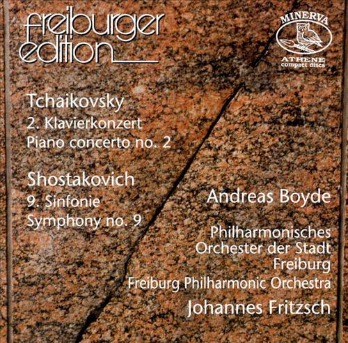 Shostakovich: Symphony No9, Op70; Tchaikovsky: Piano Concerto No2, Op44