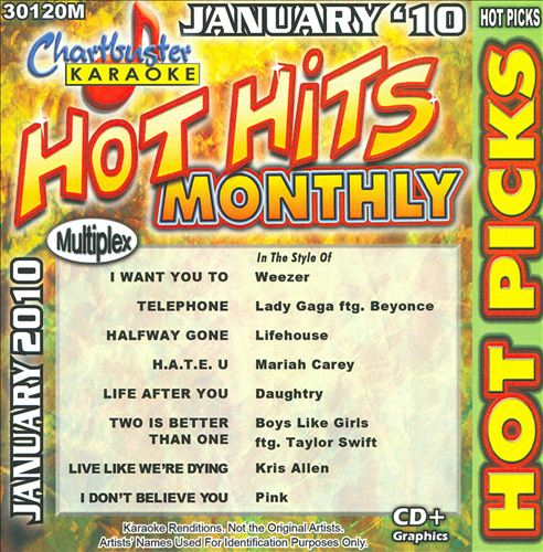 Karaoke: Hot Picks January 2010