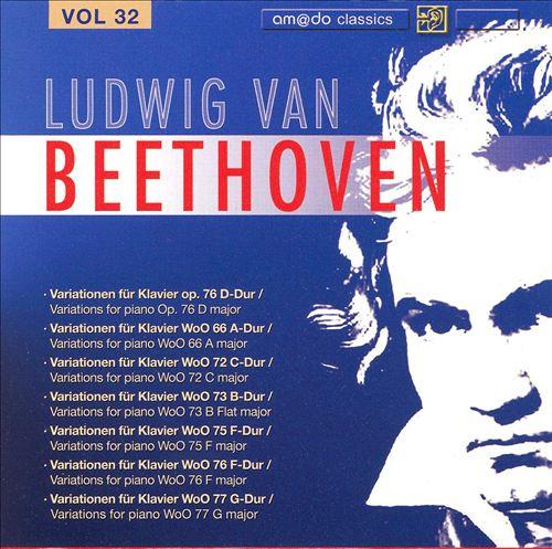 Beethoven: Complete Works, Vol. 32