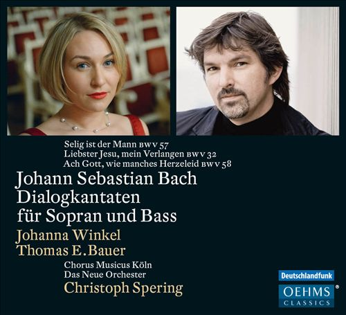 Johann Sebastian Bach: Dialogkantaten für Sopran und Bass