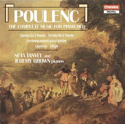 Poulenc: The Complete Music for Piano Duo