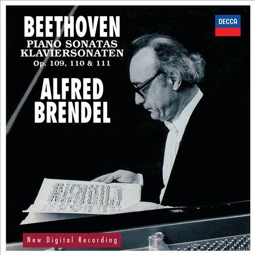 Beethoven: Piano Sonatas, Opp.109, 110, 111