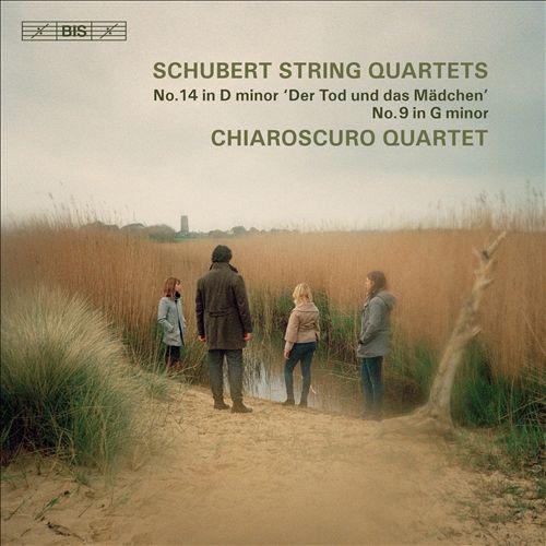 Schubert: String Quartets No. 14 in D minor 'Der Tod und das Mädchen', No. 9 in G minor