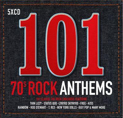 101 70s Rock Anthems