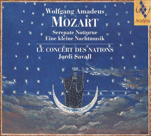 Mozart: Serenate Notturne; Eine kleine Nachtmusik