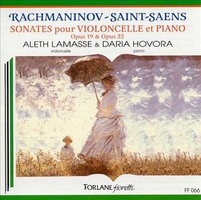 Rachmaninov and Saint-Saens: Sonatas for Cello and Piano