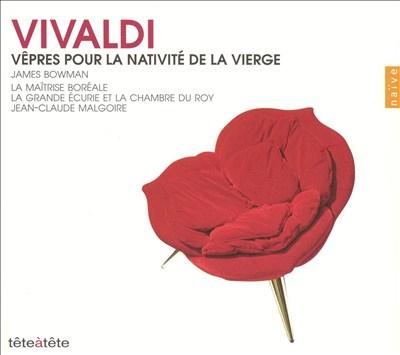 Vivaldi: Vêpres pour La Nativité de la Vierge