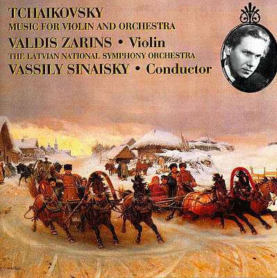 Tchaikovsky: Music for Violin and Orchestra