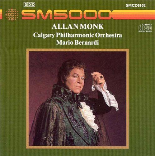 Allan Monk, Baritone