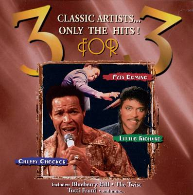 3 for 3: Chubby Checker, Little Richard & Fats Domino