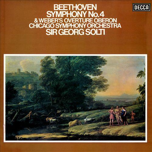 Beethoven: Symphony No. 4; Weber: Overture Oberon