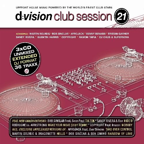 D: Vision Club Session, Vol. 21