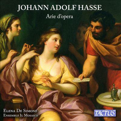 Johann Adolf Hasse: Arie d'Opera