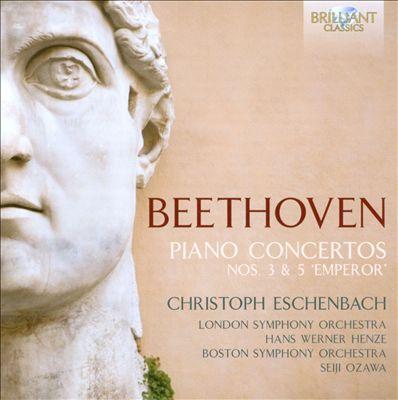 """Beethoven: Piano Concertos Nos. 3 & 5 """"Emperor"""""""