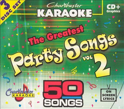 Chartbuster Karaoke: Greatest Party Songs, Vol. 2